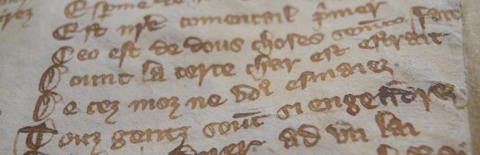 Medieval Didactic Literature