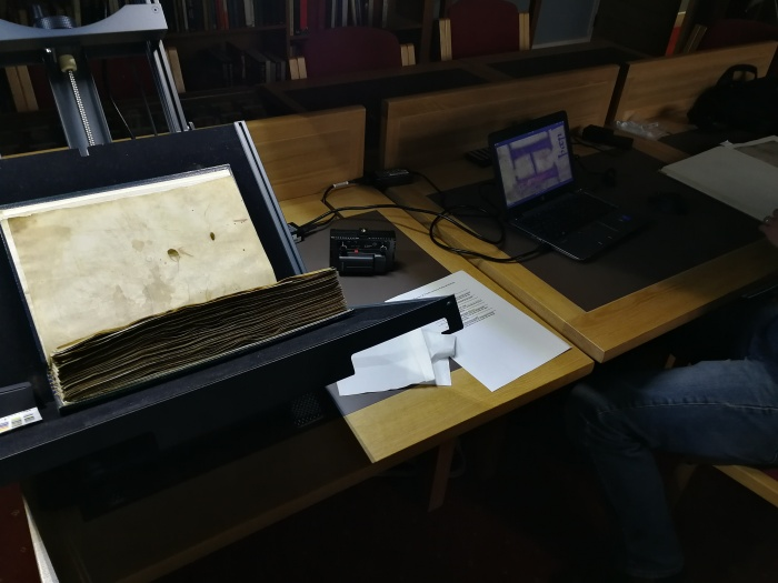 Digitising the Exeter Book